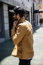 Nudie - Barney Worker Waxed Jacket - Carmel