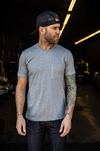 Nudie - Kurt Worker Tee - Heathered Grey