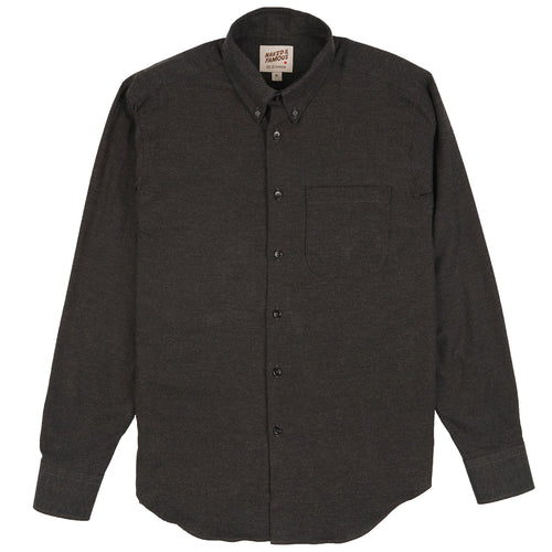 Naked & Famous - Easy Shirt - Classic Flannel - Charcoal