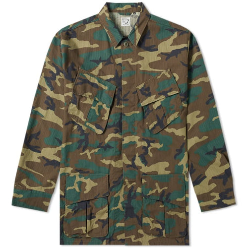 orSlow - Tropical Jacket  - Woodland Camo