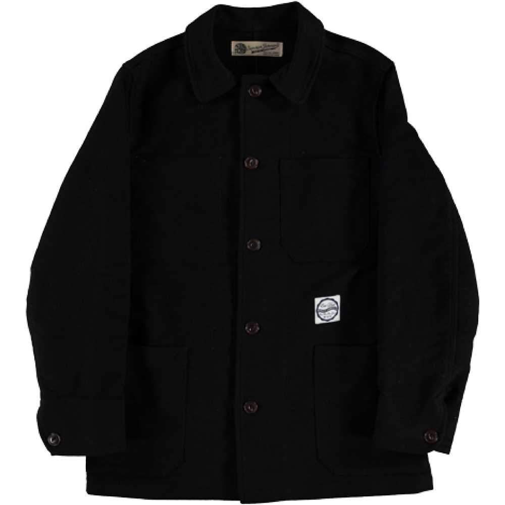 Girls of Dust - 673 Moleskin Jacket - Black