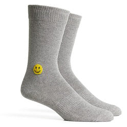 Richer Poorer - Lucky Socks - Heather Grey