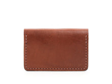 Billykirk - Leather Bi-Fold Card Case - Tan