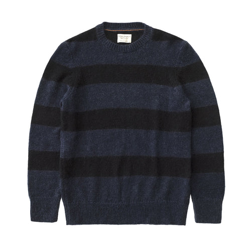 Nudie - Hampus - Block Stripe Black/Blue