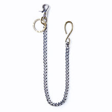 ADDICT Clothes - Silver & Brass Wallet Chain