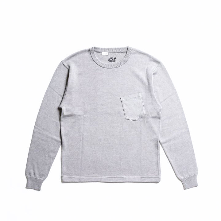 ADDICT Clothes - HeavyWeight Long Sleeve - Grey