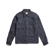 ADDICT Clothes - Padded Wool Shirt - Heather Grey