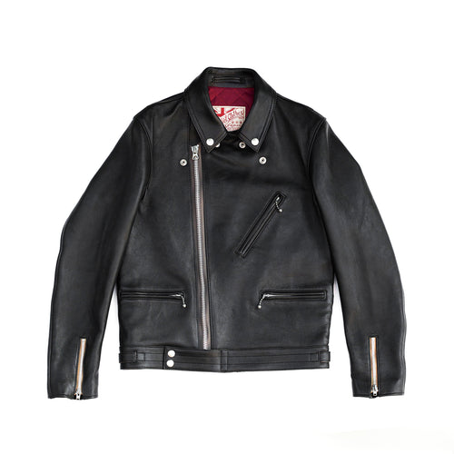 ADDICT Clothes - British Asymmetry Jacket - Sheepskin Leather