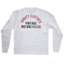 ADDICT Clothes - Long Sleeve Pocket Tee - White