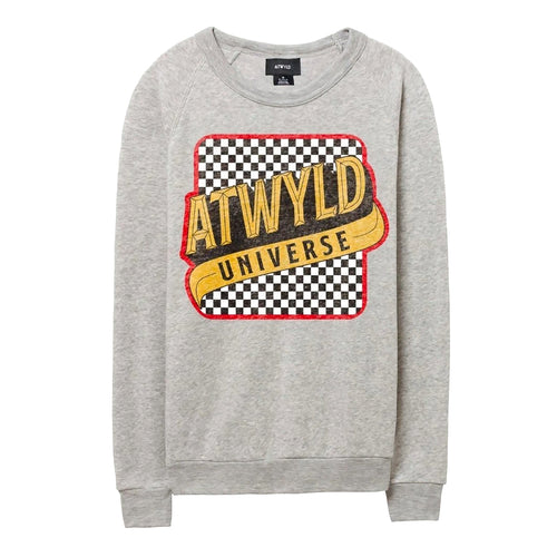 ATWYLD - Check Stop Crew Fleece