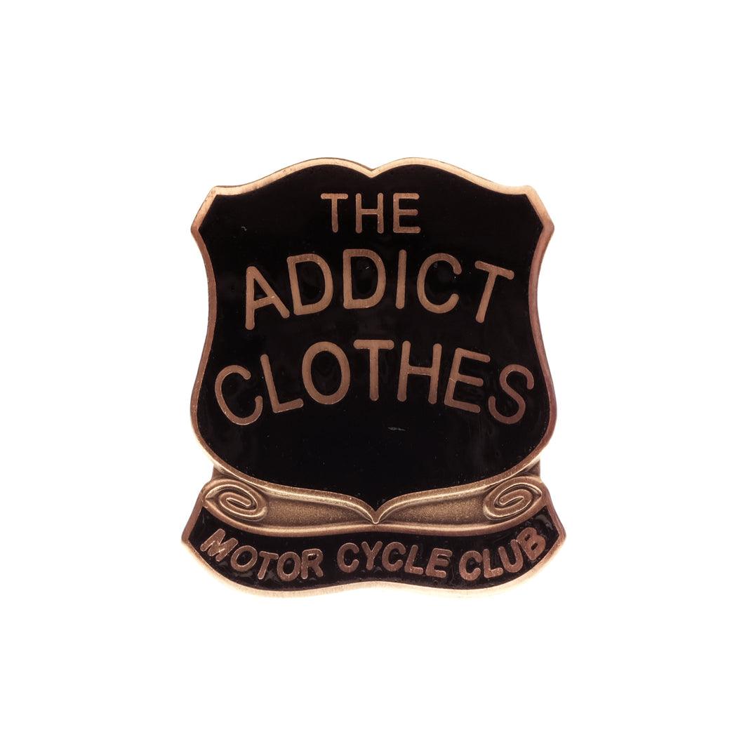 ADDICT Clothes - Shield Pin