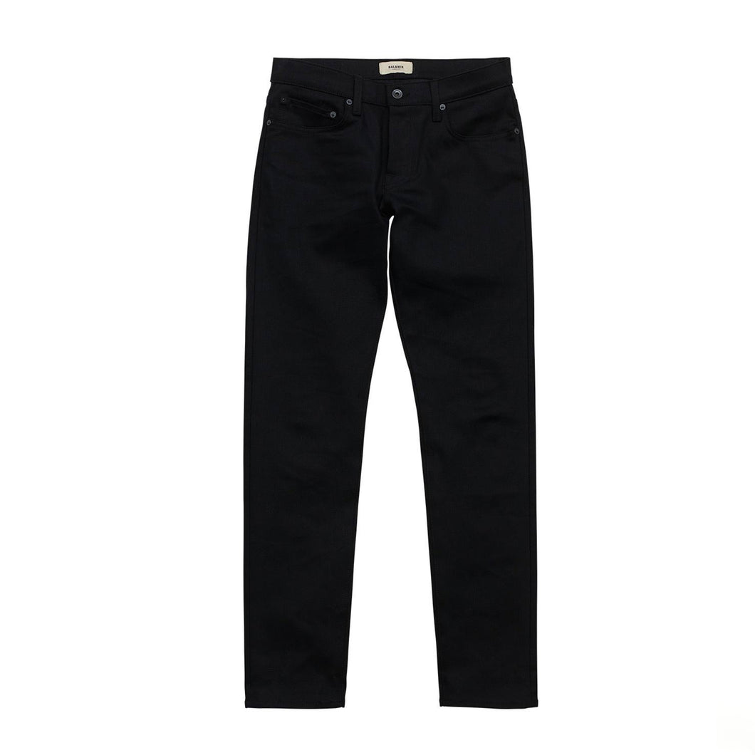 Baldwin - 76 - Black Raw Stretch Selvedge