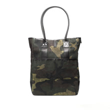 Billykirk - Waxed Canvas Commuter Tote - Camo