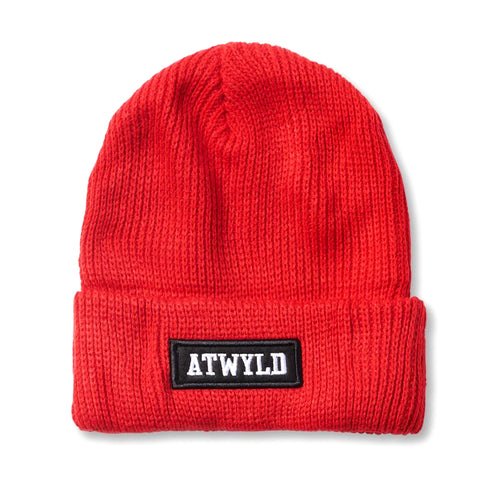 ATWYLD - Cassius Beanie - Red Hot