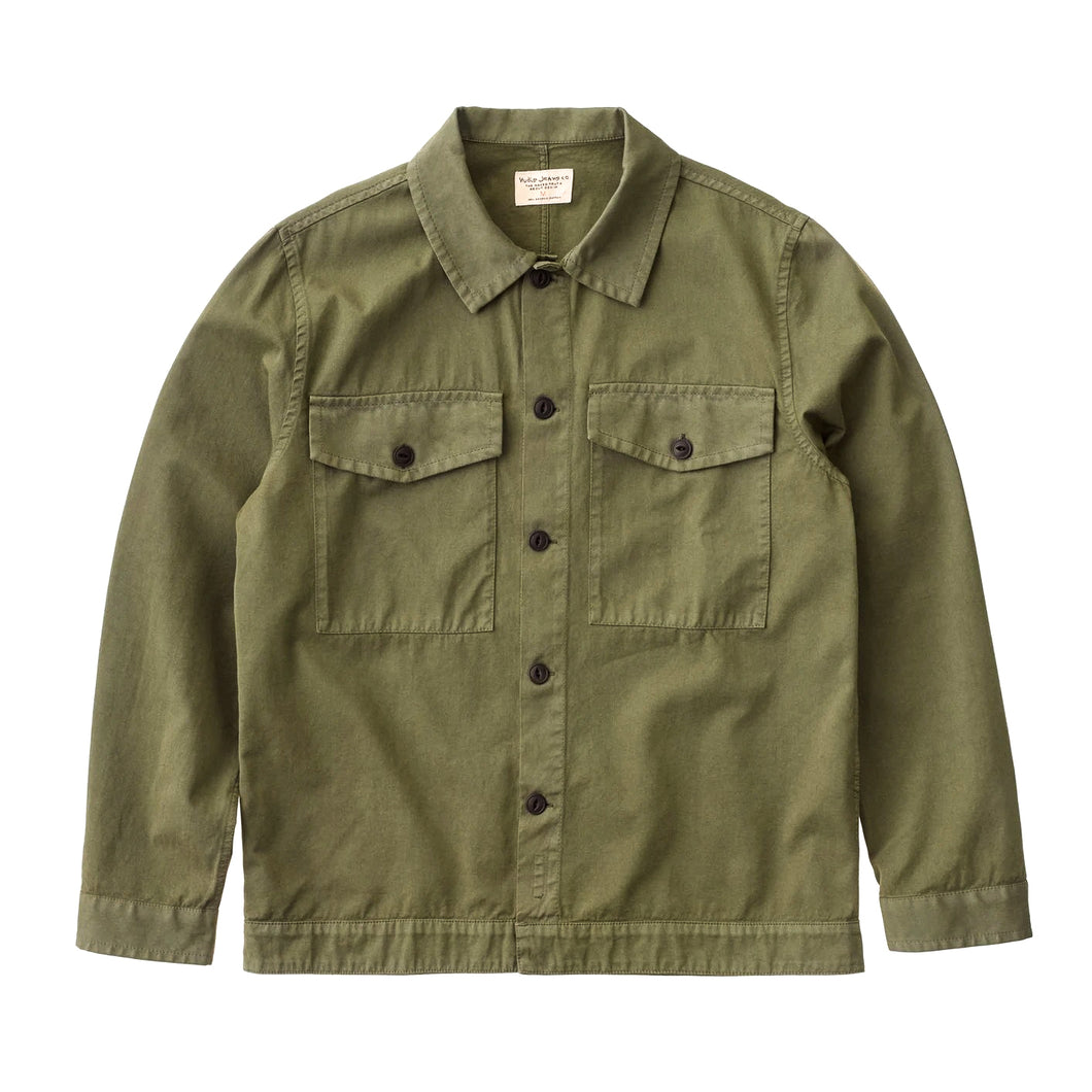 Nudie - Colin Utility Overshirt - Green