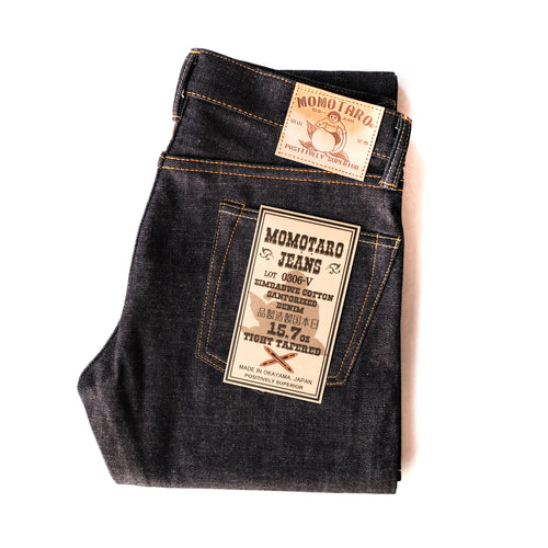 Momotaro - Tight Tapered - 15.7oz Zimbabwe