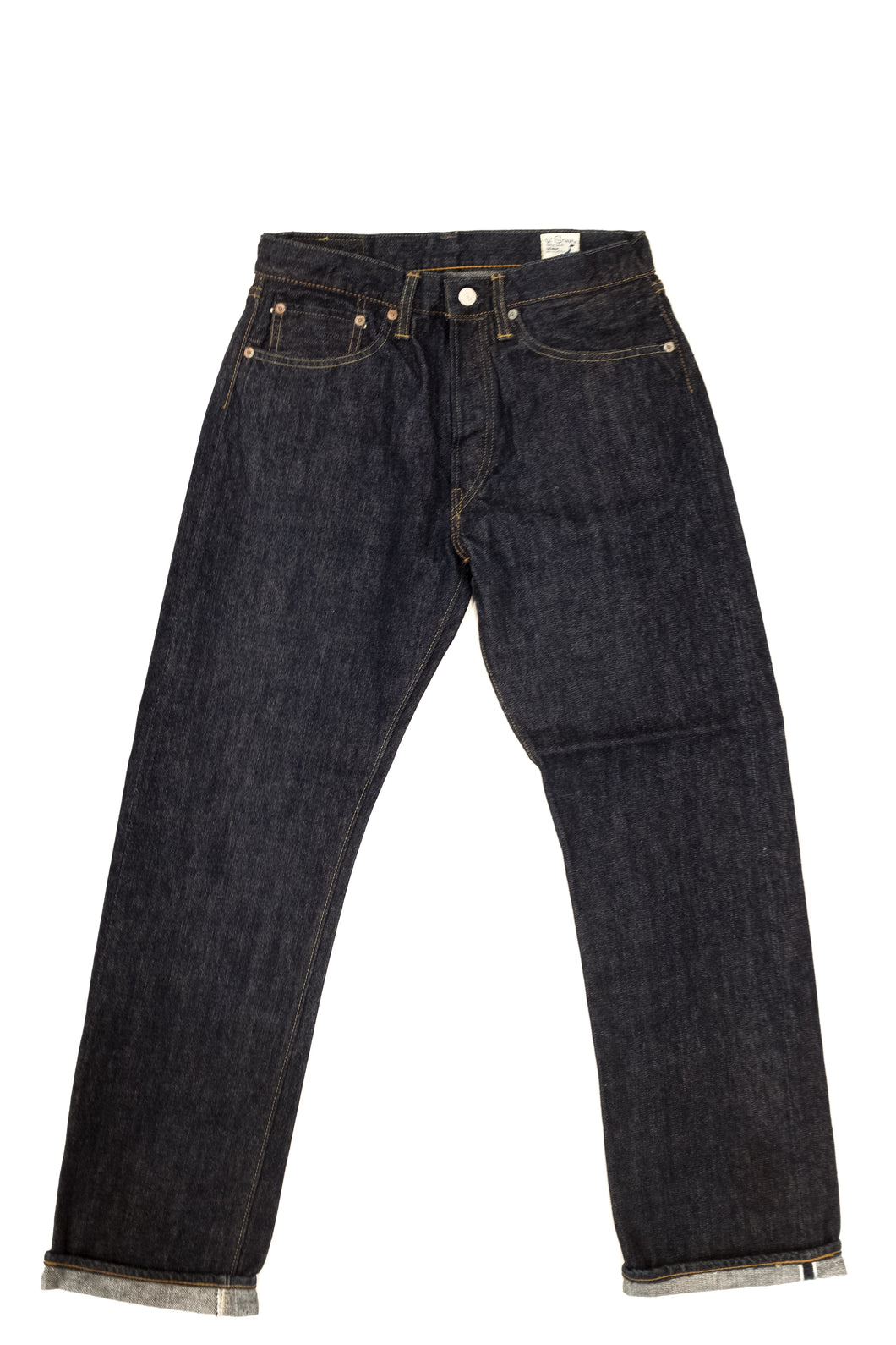 orSlow - 105 Standard Straight Selvedge - One Wash