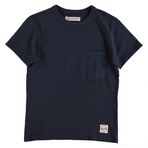 Eat Dust - Pocket Tee - Navy