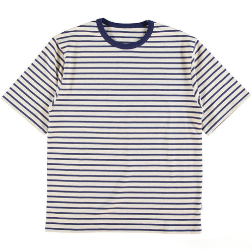 Eat Dust - Sailor Shirt - White/Navy Stripe