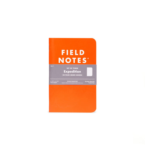 Field Notes - Expedition (3pk)