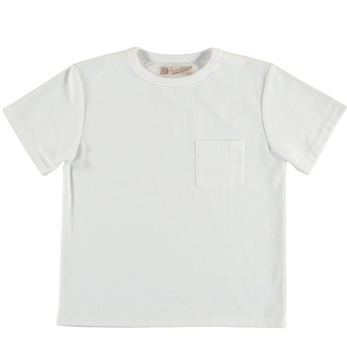 Girls of Dust - Pocket Tee - Classic White