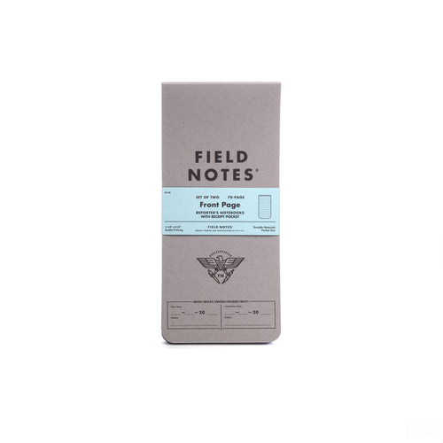 Field Notes - Front Page NoteBook (2pk)