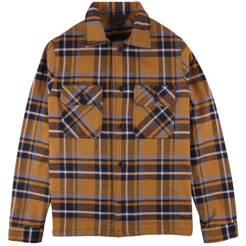 Naked & Famous - Heavyweight Vintage Flannel - Yellow