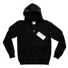 ADDICT Clothes - Heavy Weight Zip Up - Black