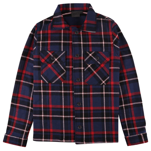 Naked & Famous - Heavyweight Vintage Flannel - Navy