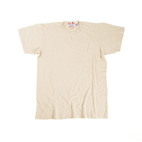 Left Field NYC - Hemp Cotton Tee - Natural