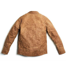 Jane Motorcycles - The DRIGGS Waxed Canvas Riding Jacket - Field Tan