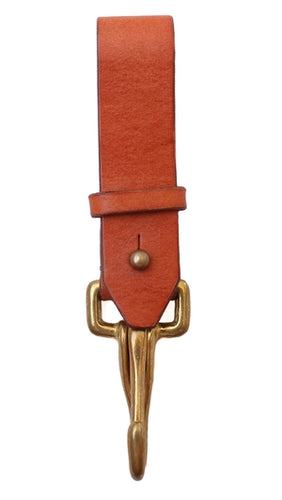 Haiti Design Co. - Tan Leather Key Fob