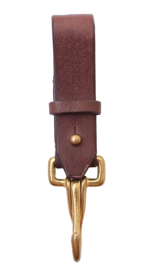 Haiti Design Co. - Brown Leather Key Fob