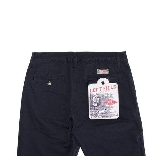 Left Field - Kerouac - 9 oz Selvedge Twill Chino - Navy