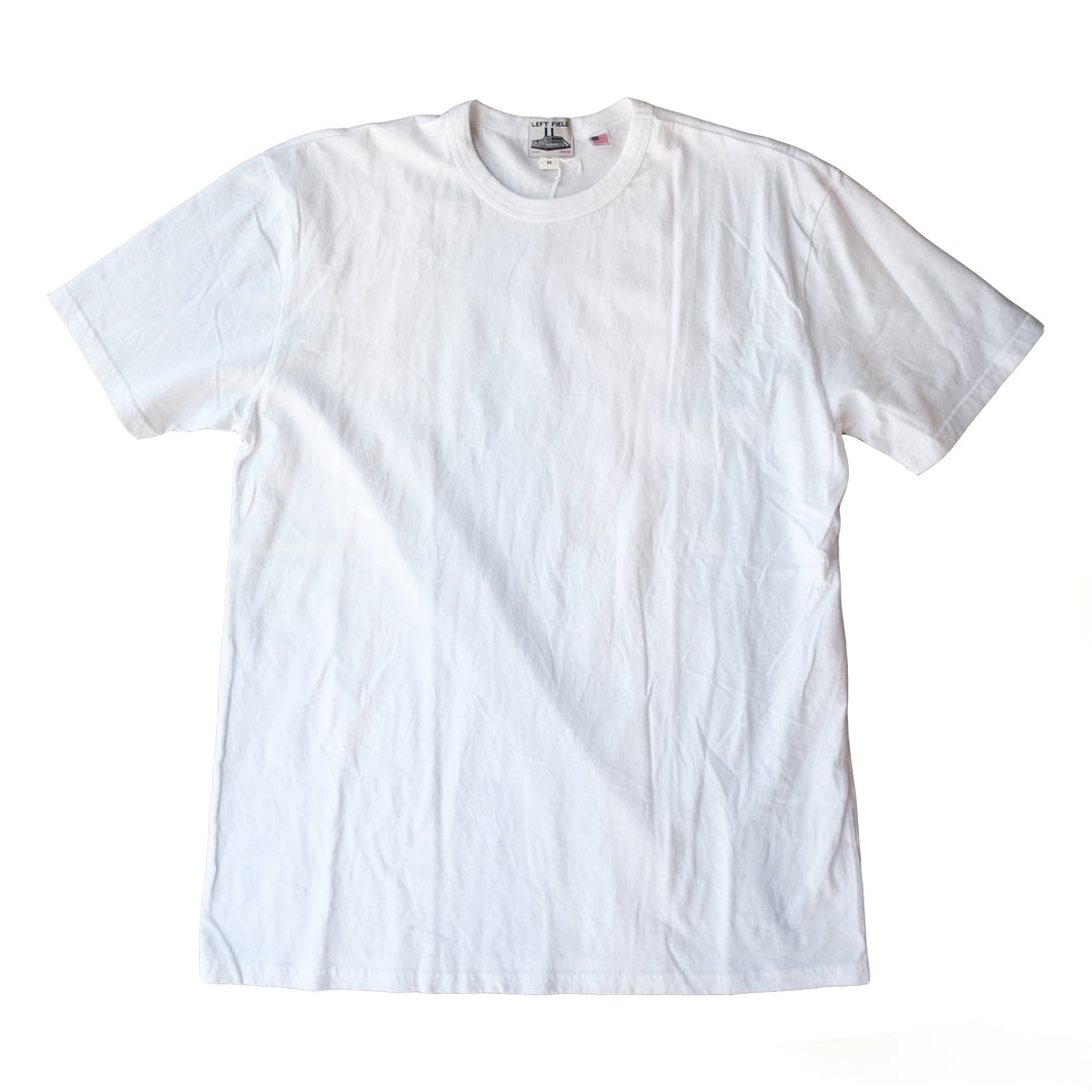 Left Field NYC - Work Uniform Crew - White