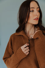 Girls of Dust - Fly Deck Sweater Merino Wool - Camel