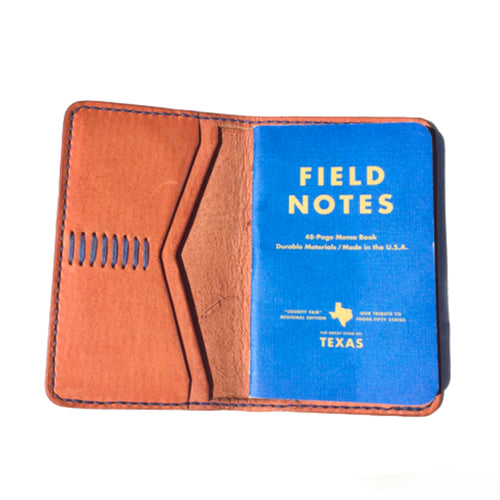 Haiti Design Co. - Leather Notebook Sleeve - Tan