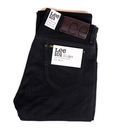 Lee 101 - Rider - 13oz Black Selvedge