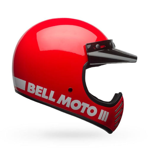 Bell Helmets - Moto-3 - Gloss Red