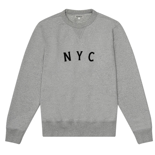 Knickerbocker - NYC Gym Crew Fleece - Heather Grey