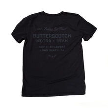 ButterScotch - Neighborhood Pocket Tee - Black on Black