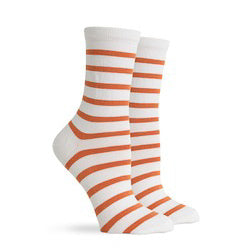 Richer Poorer Womens - Nora Socks - White & Tobacco
