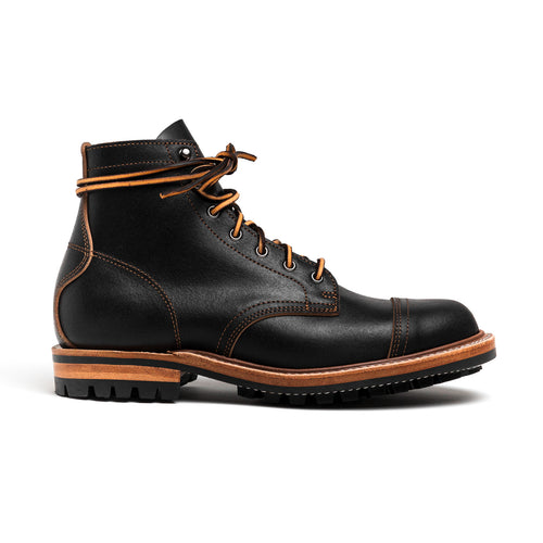 Truman Boot Co. - Norton Boot - Black Waxed Flesh - MTO