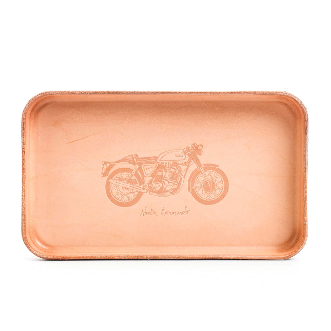 Billykirk - Leather Valet Tray - Norton Comando