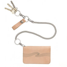 Nudie - Alferdsson Chain Wallet - Natural Leather