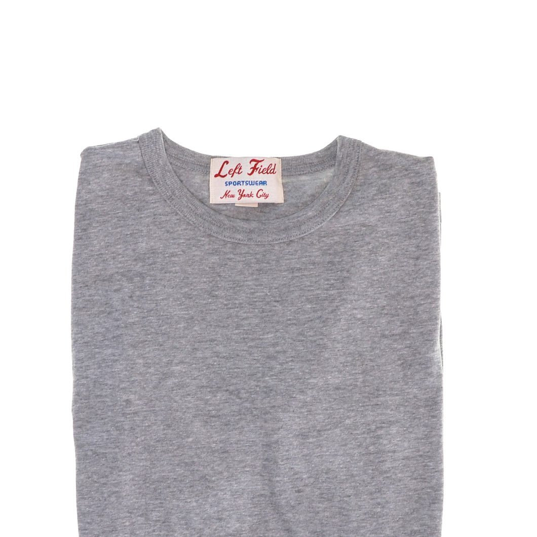 Left Field NYC - Tube Tee - Heather Grey