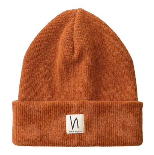 Nudie - Lambs Wool Beanie - Orange