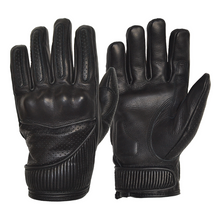 Goldtop England - Silk Lined Viceroy Gloves - Black