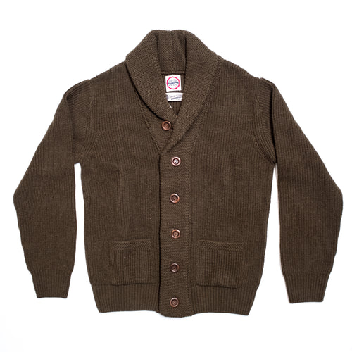 Eat Dust - Service Cardigan - Army Green