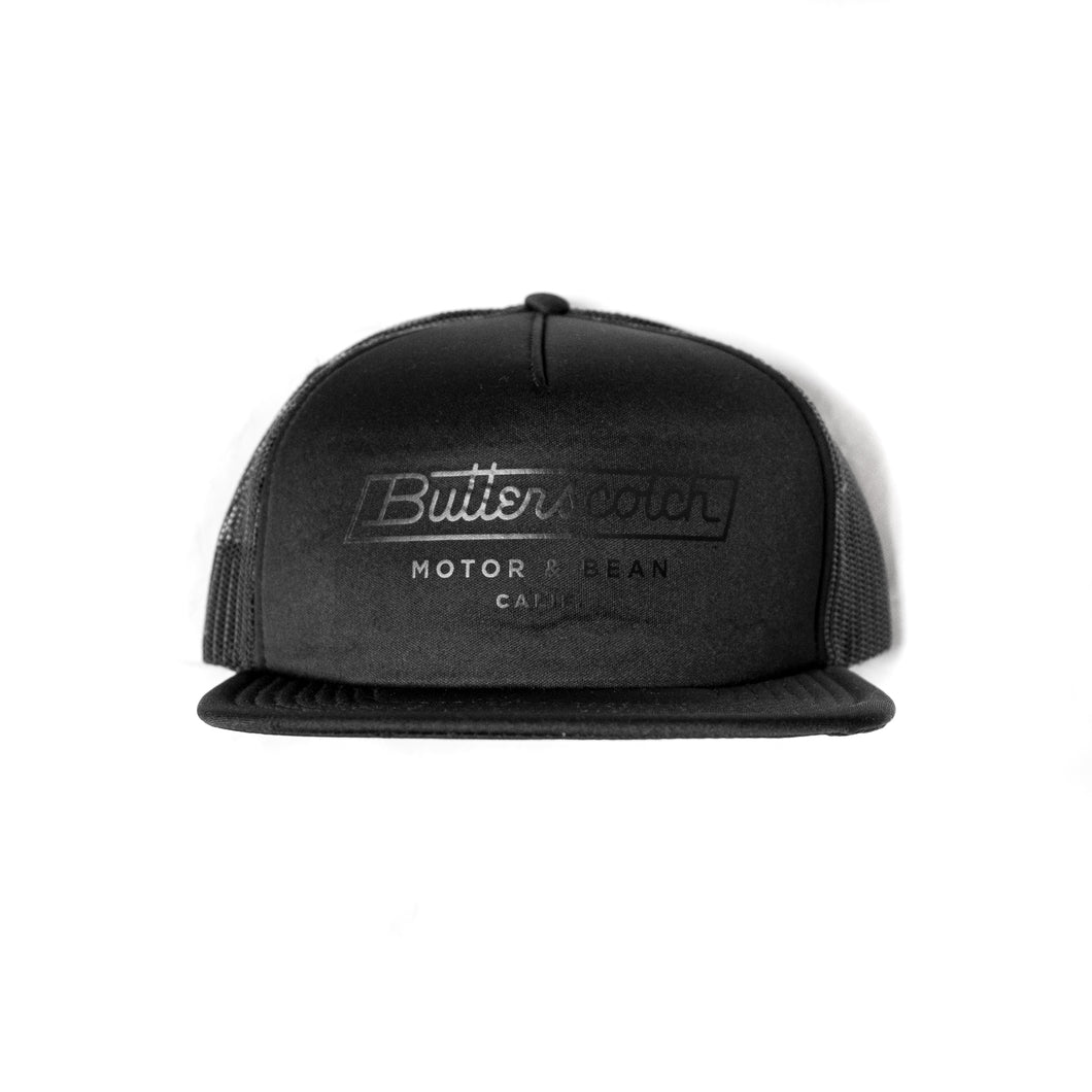 ButterScotch - Shop Hat - Blacked Out